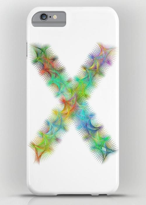 Letter X iPhone 6 Plus Slim Case