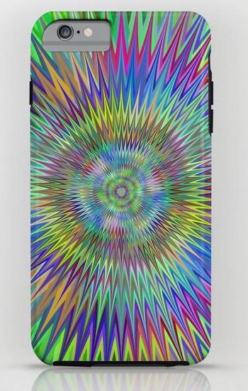 Hypnotic stars iPhone 6 Plus Tough Case