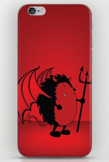 Bad hedgie iPhone 6 Skin