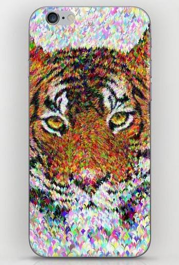 Tiger head iPhone 6 Skin