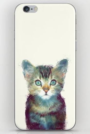 Cat - Aware iPhone 6 Skin