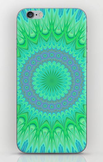 Crystal mandala iPhone 6 Skin