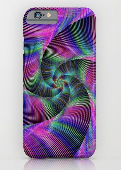 Spiral tentacles iPhone 6S Slim Case