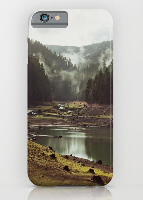 Foggy Forest Creek iPhone 6S Slim Case