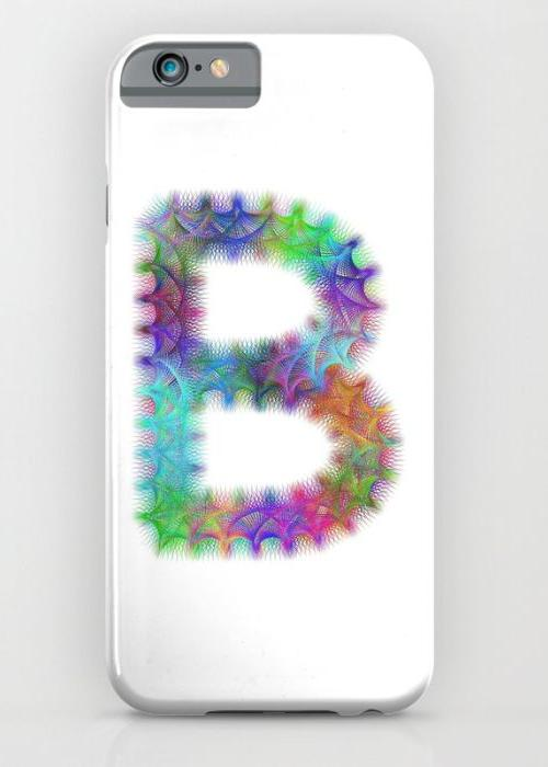 Letter B iPhone 6S Slim Case