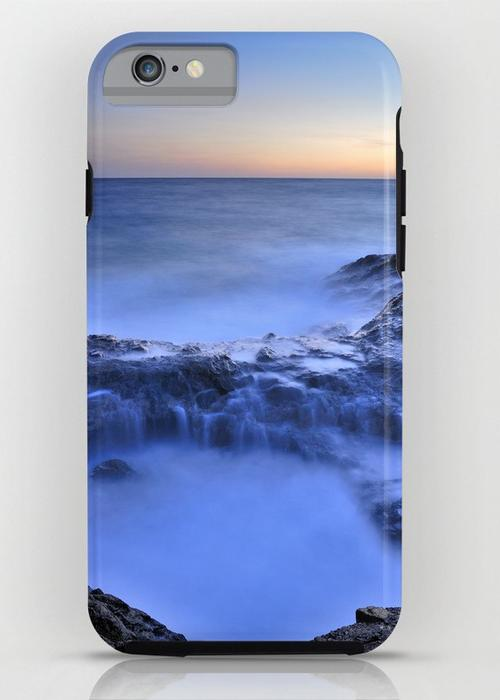 Blue seaside iPhone 6S Tough Case