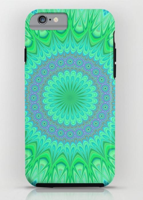 Crystal mandala iPhone 6S Tough Case