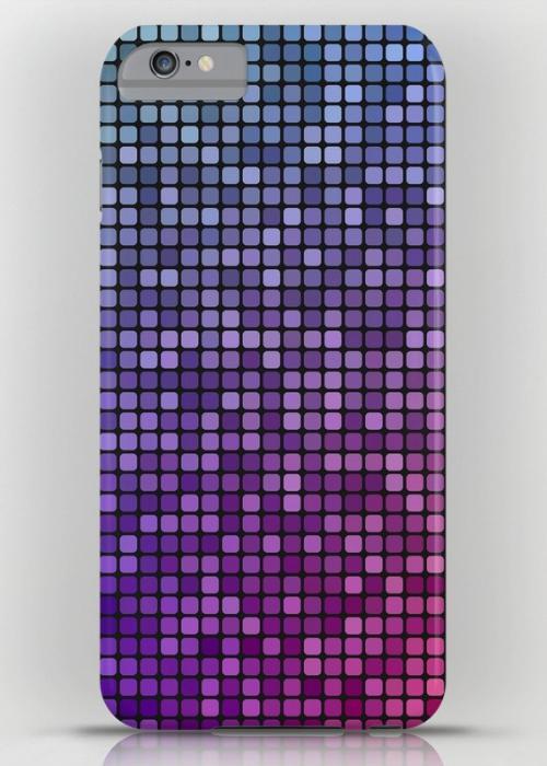 Colorful mosaic iPhone 6S Plus Slim Case