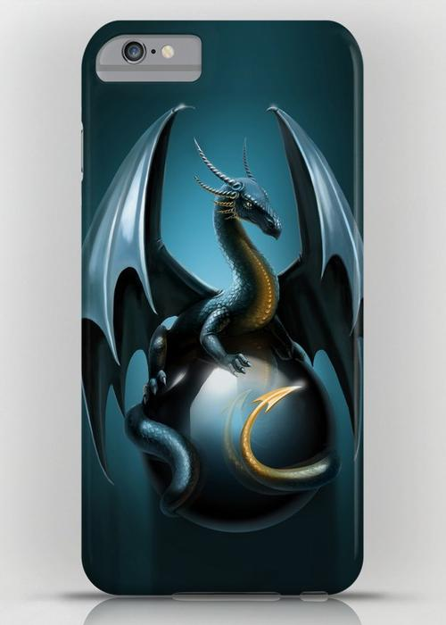 Blue dragon iPhone 6S Plus Slim Case