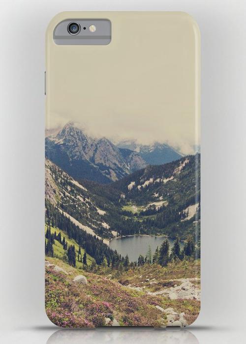 Mountain Flowers iPhone 6S Plus Slim Case