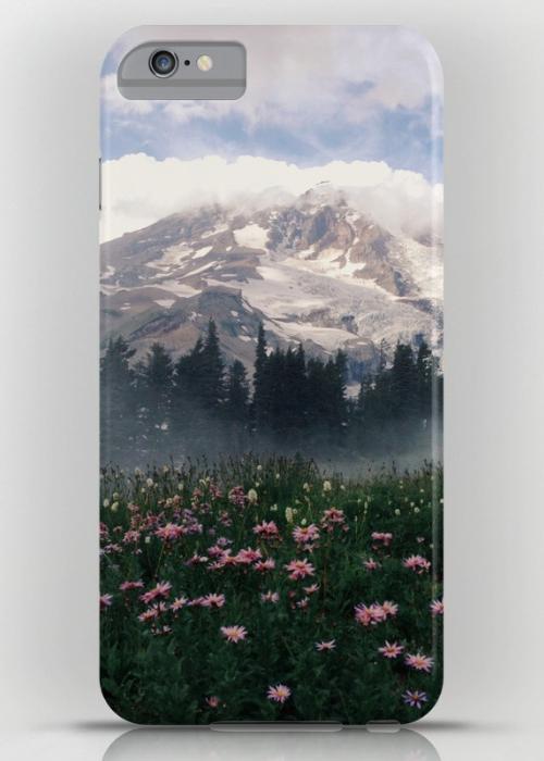 Mt Rainier iPhone 6S Plus Slim Case
