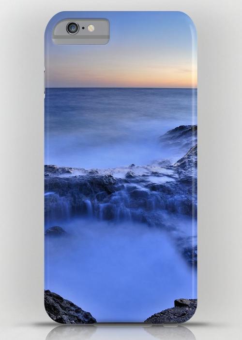 Blue seaside iPhone 6S Plus Slim Case