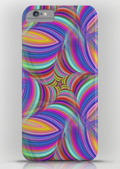 Psychedelic iPhone 6S Plus Slim Case