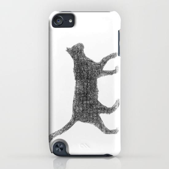 Dust kitten iPod Touch Case