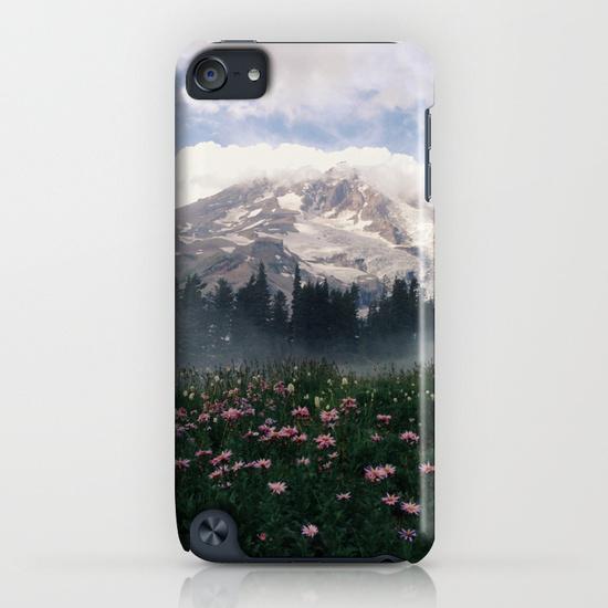 Mt Rainier iPod Touch Case