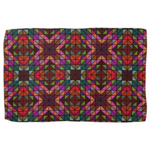 Multicolor glass mosaic Kitchen Towel