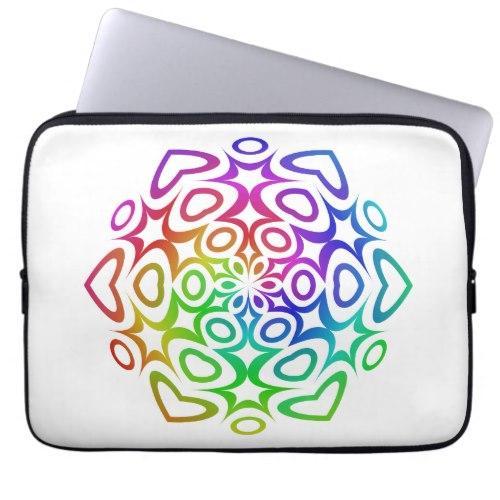 Rainbow ornament Laptop Sleeve