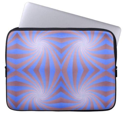 Spiral pattern Laptop Sleeve