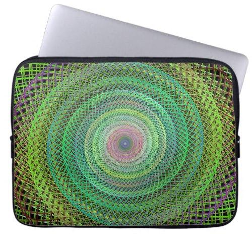 Multicolor fractal Laptop Sleeve