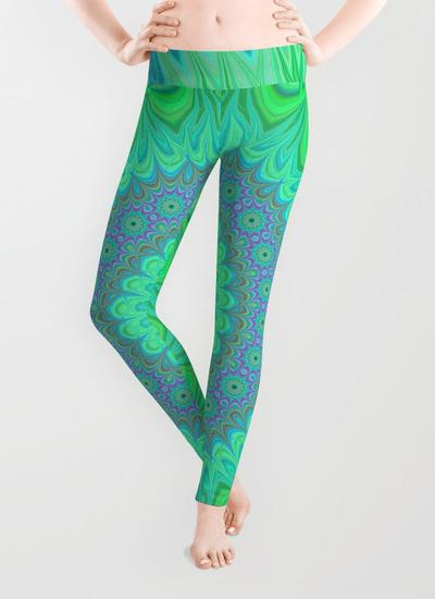 Crystal mandala Leggings