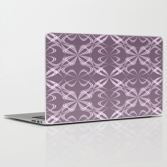 Calligraphy pattern MacBook Air Skin