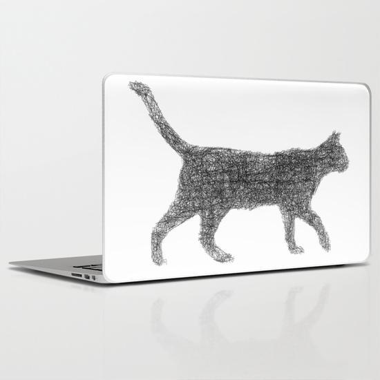 Dust kitten MacBook Air Skin