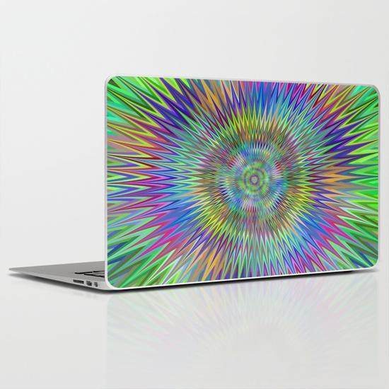 Hypnotic stars MacBook Air Skin