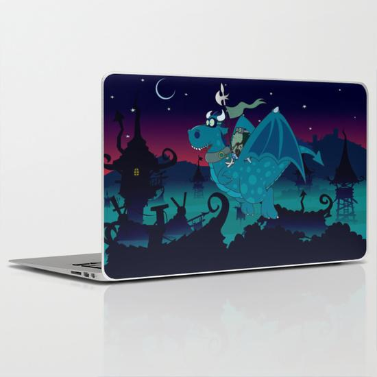 Night watch MacBook Air Skin