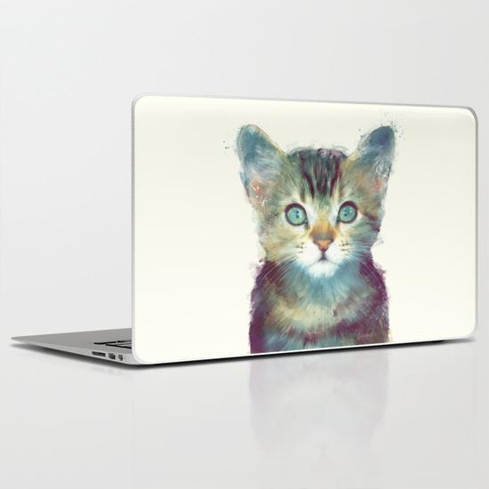 Cat - Aware MacBook Air Skin
