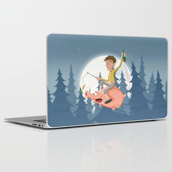 Mental night MacBook Air Skin