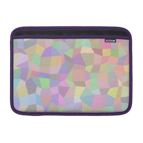 Multicolor mosaic background MacBook Air Sleeve