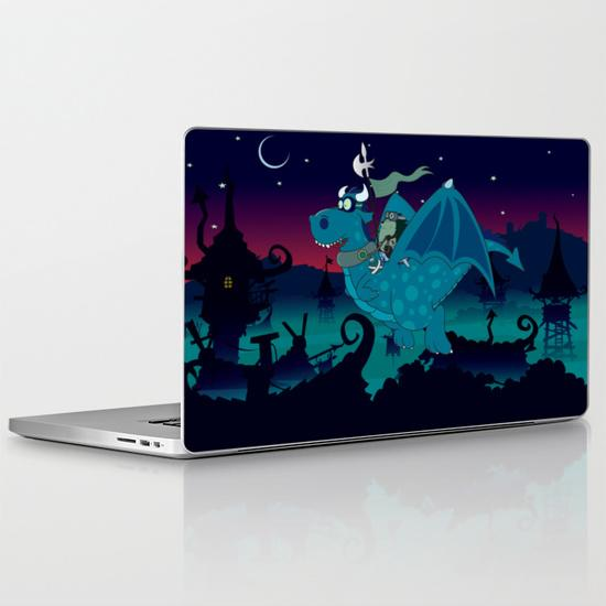 Night watch MacBook Pro Retina Skin