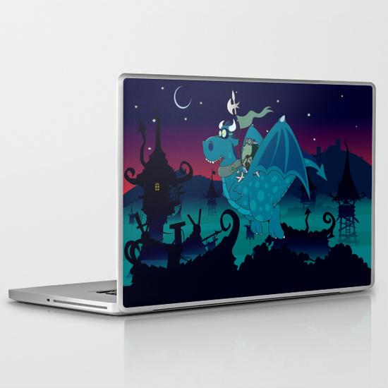 Night watch MacBook Pro Skin