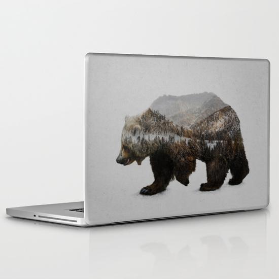 The Kodiak Brown Bear MacBook Pro Skin