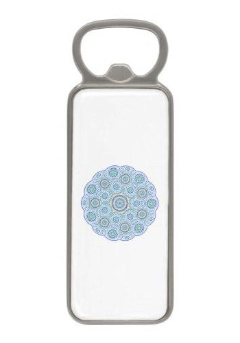 Mandala ornament Magnetic Bottle Opener
