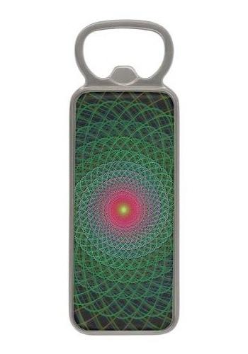 Fractal spiral Magnetic Bottle Opener