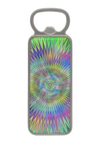Hypnotic stars Magnetic Bottle Opener
