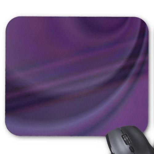 Purple abstract Standard Mouse Pad