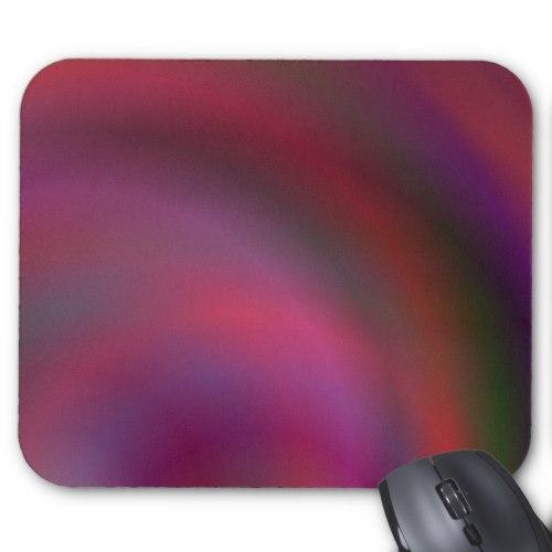 Purple colorful abstract Standard Mouse Pad