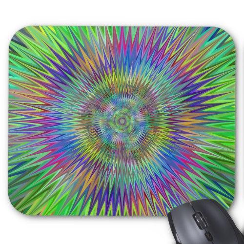 Hypnotic stars Standard Mouse Pad