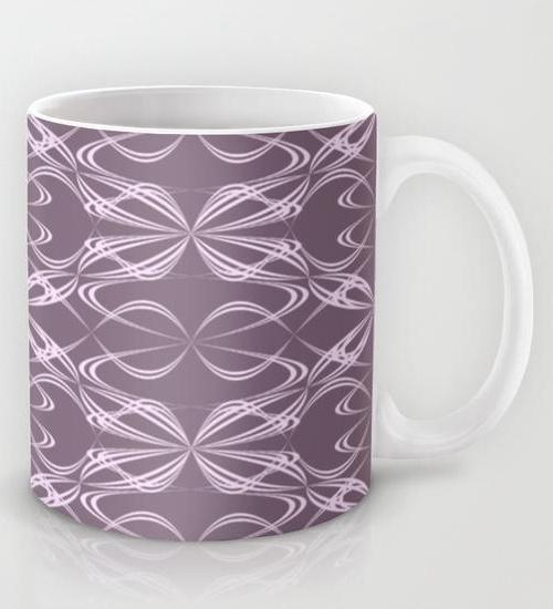Calligraphy pattern Mug