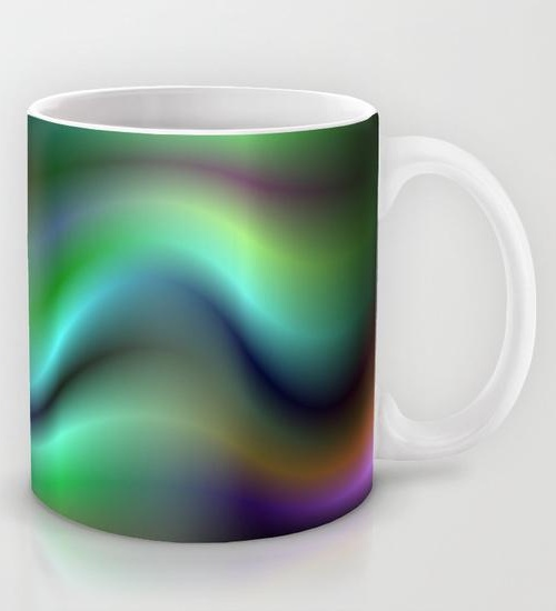 Electric waves Mug