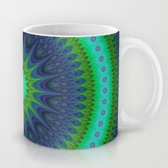 Winter mandala Mug