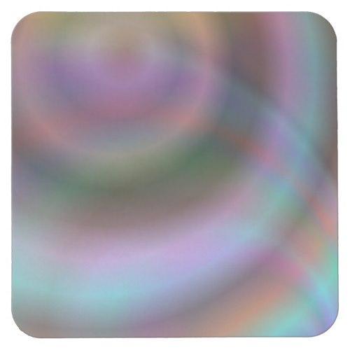 Color vortex design Square Paper Coaster