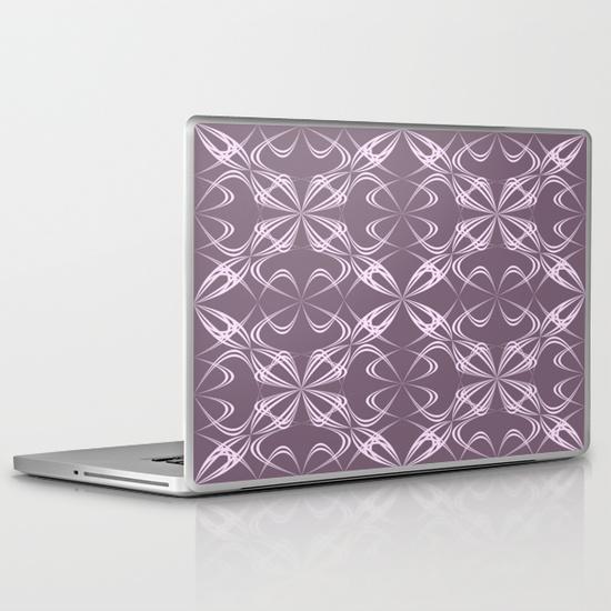 Calligraphy pattern PC Laptop Skin