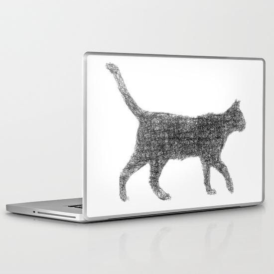 Dust kitten PC Laptop Skin