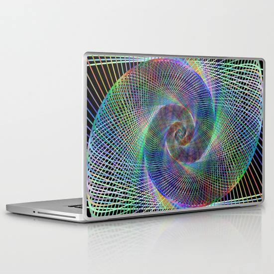 Fractal PC Laptop Skin