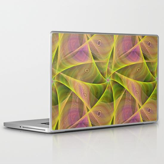 Fractal veils PC Laptop Skin