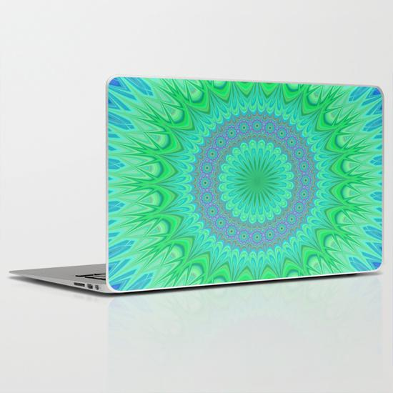 Crystal mandala PC Laptop Skin
