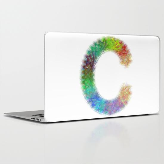 Letter C PC Laptop Skin